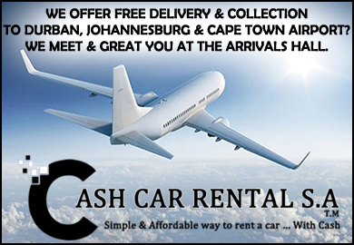 Cash Car Rental SA Johannesburg