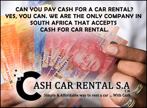 Can You Rent A Car With Cash >> Cash Car Rental Hire A Car With A Debit Card In South Africa