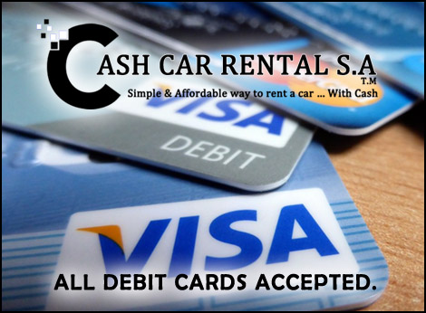 Can You Rent A Car With Cash >> Cash Car Rental Hire A Car Without A Credit Card In South